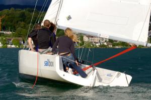 die Crew von Illnau-Effretikon am insign Cup 2013 mitten im Wind