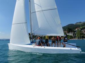 mOcean mit Sicht auf die Crew