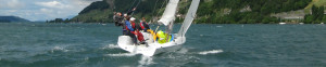 insign Cup - e-mOcean pur - mit Reff am Wind