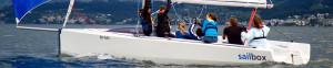 das Team Ringier gewann den insign Cup 2014 mit Skipper Philipp