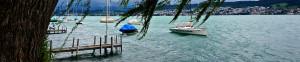 viel Wind vor dem Segel- und Yachtclub Herrliberg (SYH) für den insign Cup 2013
