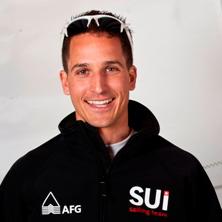 Simon Brügger, Olympia-Segler und Regattaleiter am insign Cup 2013