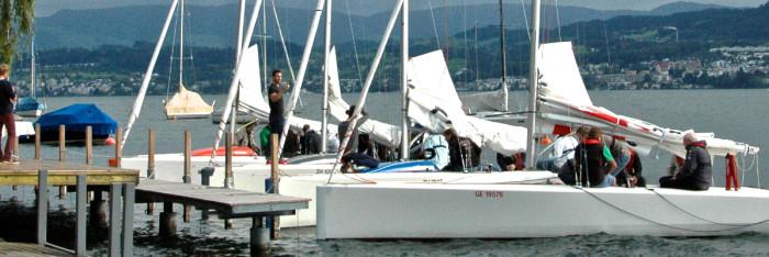 Am insign Cup 2014 waren vier Yachten vom Typ mOcean am Start
