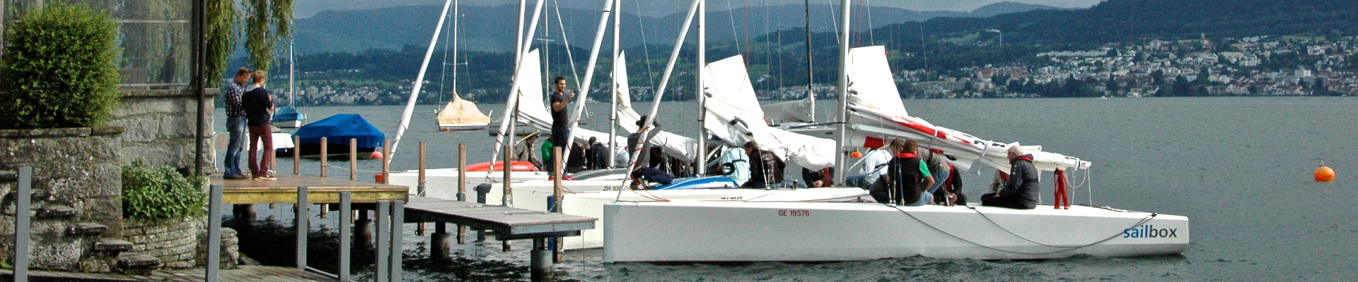 Am insign Cup 2014 waren vier Yachten vom Typ mOcean am Start