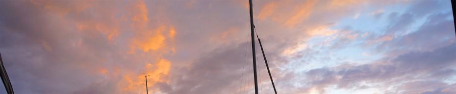 atemberaubender Himmel am insign Cup 2013 vor Herrliberg am Zürichsee