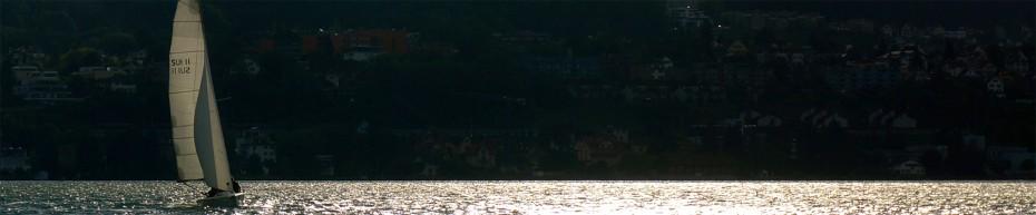 mOcean am insign Cup 2013 bei Sonnenuntergang