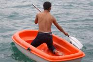 Ziars paddelt