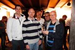zufriedene Gesichter beim Avaloq-Team